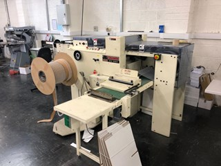 JAMES BURN EX380 WIRE-O PUNCHING  Wire-O and Spiral Binding
