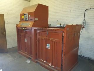 2001 MOORVOR TWIN CHAMBER WASTE BALER  Waste Handling