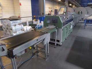 1996 MULLER MARTINI SAFIR II POLYWRAP LINE  Mail Room Equipment