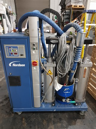 2011 NORDSON PUR PRE-MELT TANK   Perfect Binders