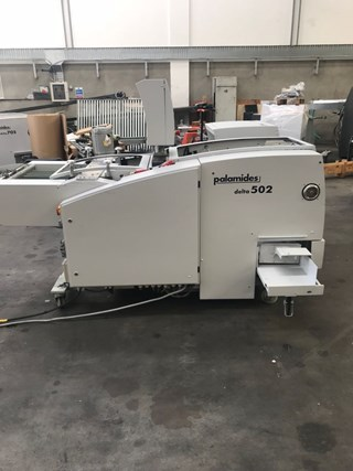 2007 PALAMIDES DELTA 502 PRESSER STACKER  Folding machines