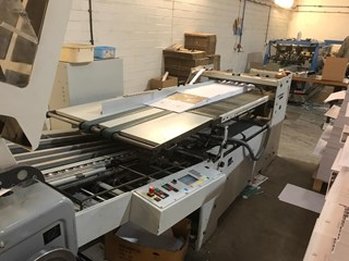 2002 HEIDELBERG STAHL KD78-4KTL Folding machines
