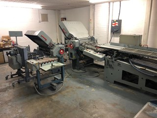 1999 STAHL TD66-4.4.X  Folding machines