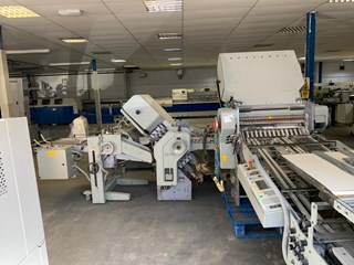 1999 HEIDELBERG STAHL TD66-6.6.X  Folding Machines