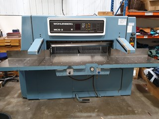 1988 WOHLENBERG 115MCS-2  Guillotines/Cutters