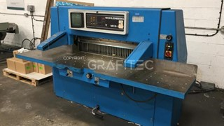 1991 Wohlenberg 115 MCS-2 TV Guillotines/Cutters