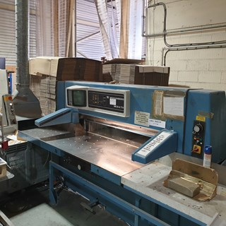 1994 WOHLENBERG 137MCS-2TV  Guillotines/Cutters