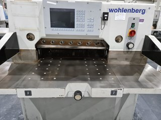 2000 Wohlenberg 76 Cut-Tec Guillotines/Cutters