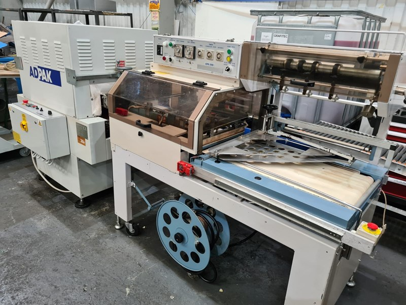 Show details for ADPAK EFK250 SHRINKWRAPPER