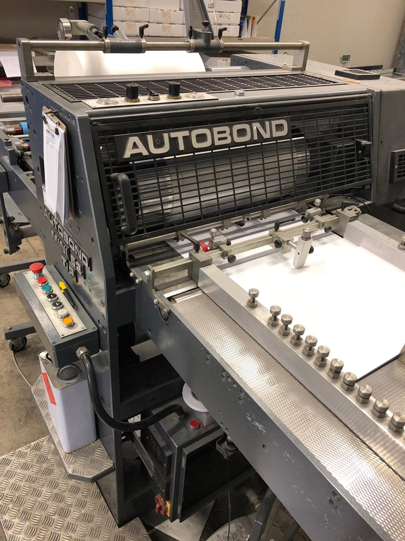 2008 AUTOBOND MINI 52TP DOUBLE SIDED LAMINATOR