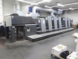 Heidelberg CD 74-5P+L-C Sheet Fed
