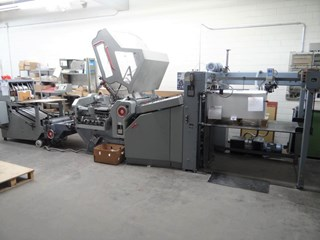 Heidelberg KD 78/4 KTL +VFZ52 Folding machines
