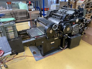 Heidelberg KSB Die Cutters - Automatic and Handfed