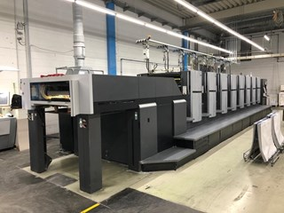 Heidelberg SX 102-8P  Inpress, Wallscreen Sheet Fed