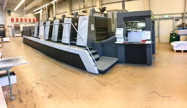 Show details for Heidelberg SM XL 106-5+LX3 LE UV