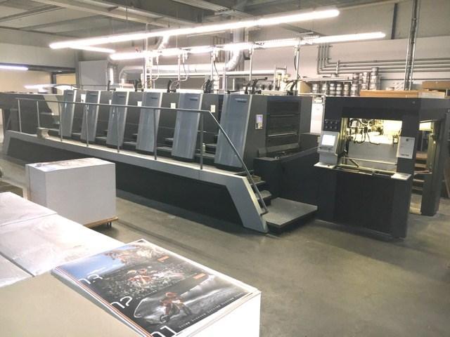 Show details for Heidelberg XL 106-5+LX