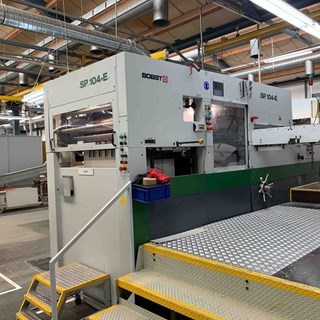 Bobst SP 104-E Die Cutting