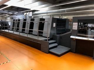 Heidelberg SM XL 105-5 + L Sheet Fed