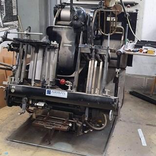 Heidelberg Tiegel T Buchdruck-Zylinder & Tiegel