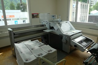Heidelberg TSH 70 Twinstacker Folding Machines