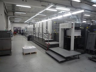 Komori Lithrone S 1040 P + L Sheet Fed