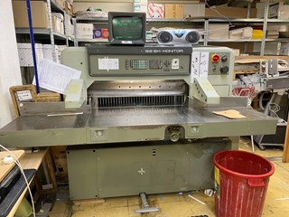 Polar 92 EM- Monitor Guillotines/Cutters