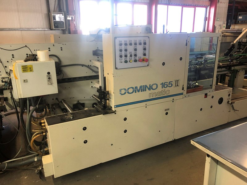Show details for Bobst Domino 165 II matic