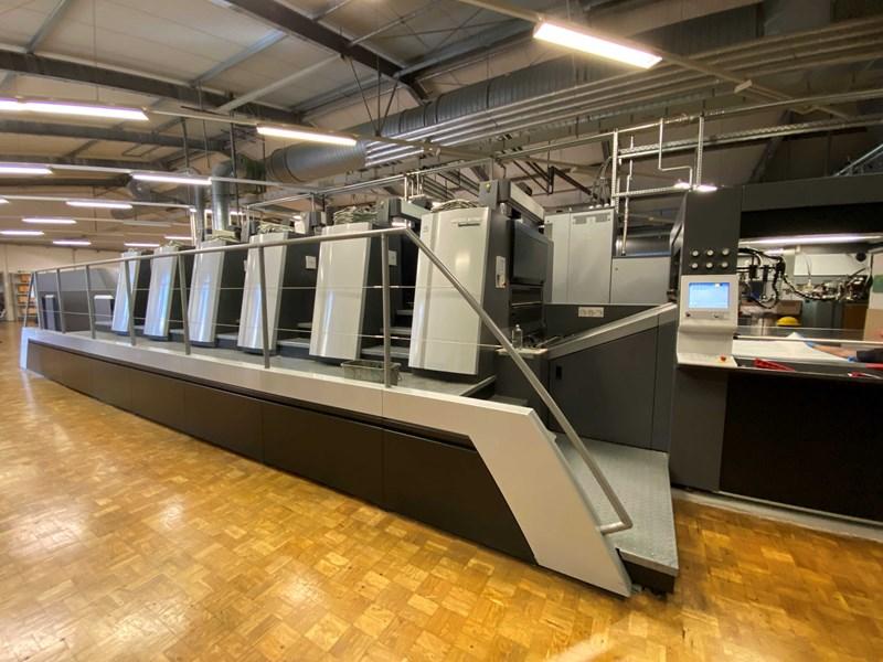 Show details for Heidelberg SM XL 106-5+L LE UV IR (Hybrid)