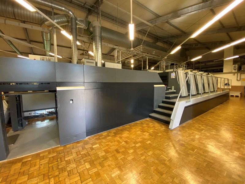Heidelberg SM XL 106-5+L LE UV IR (Hybrid)