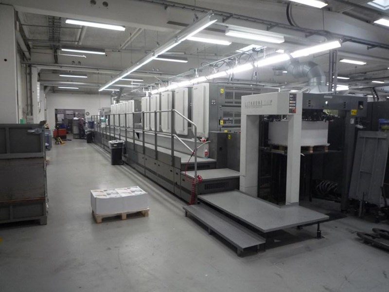 Show details for Komori Lithrone S 1040 P + L