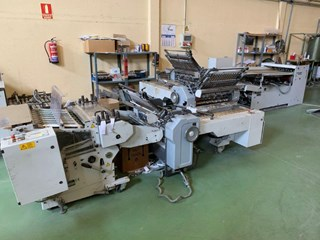 Heidelberg Stahlfolder 82 and 78 and FS 100 Folding machines