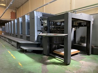 Heidelberg Speedmaster SM 102-8-P-S (well equipped) Gebrauchte Bogenoffsetmaschinen