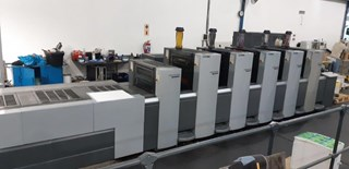 Speedmaster SM 52-5-H + LX Anicolor Sheet Fed