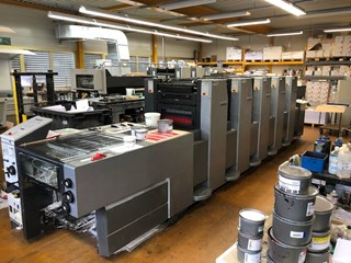Heidelberg Speedmaster SM 52-5-P2-H 单张纸胶印机
