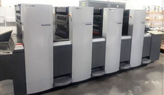 Heidelberg Speedmaster SM 52-4 Sheet Fed