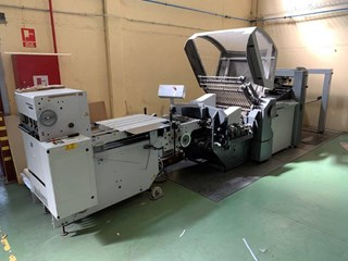 Heidelberg Stahlfolder PFH-82 Folding machines
