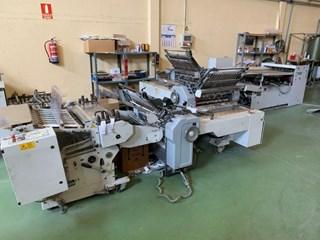 Heidelberg Stahlfolder TD 78/4-4-2 RD Folding machines