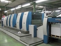 Rapida 105-4 + Tower Die Cut Sheet Fed