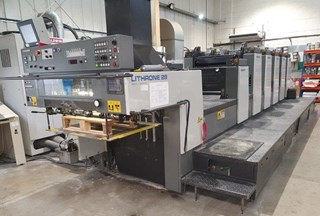 Komori Lithrone 528 EM + L Sheet Fed