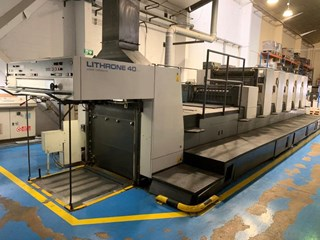 Komori Lithrone 540 + LX Machines offset à feuilles