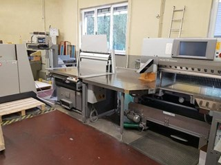 115 XT Autotim - complete Cutting Line - Top condition Guillotines/Cutters