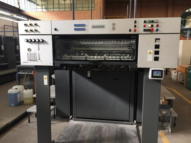Heidelberg Speedmaster CD 102-5 (overhauled - great opportunity)