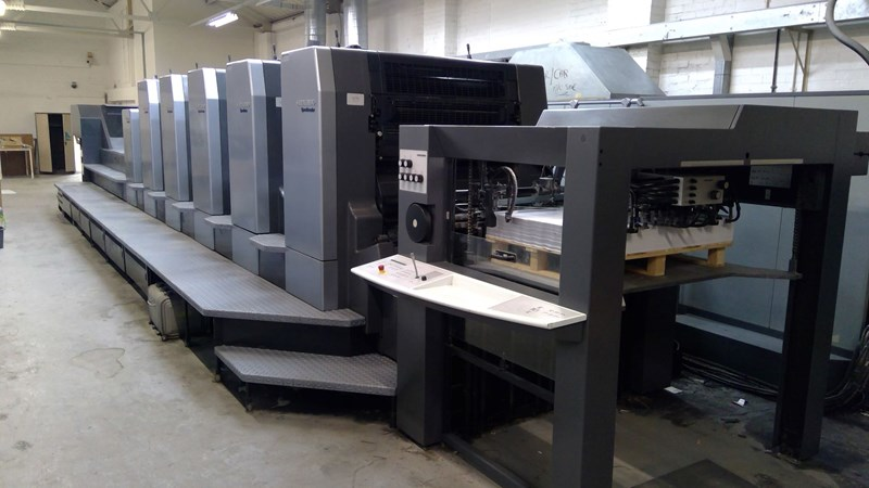 Show details for Heidelberg Speedmaster CD 102-5 + LX