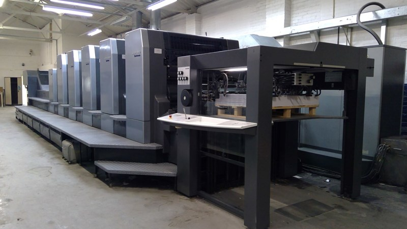 Show details for Heidelberg Speedmaster CD 102-5 + LX (Excellent)