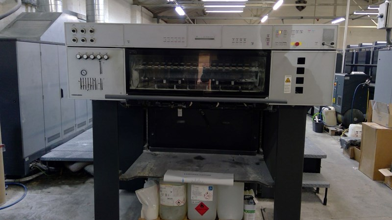 Heidelberg Speedmaster CD 102-5 + LX (Excellent)