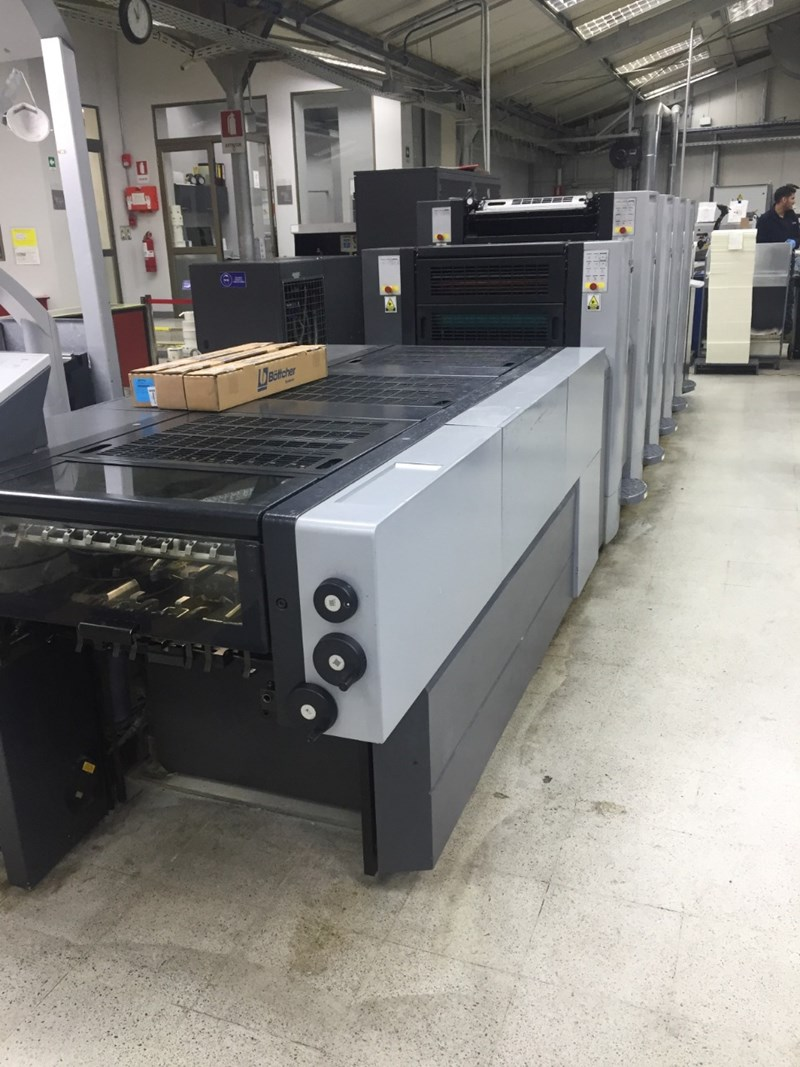 Show details for Heidelberg Speedmaster SM 52-4-P-H + LX (Prinect Axis Control)