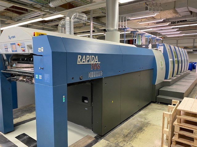 Show details for KBA Rapida 106-5 + LX