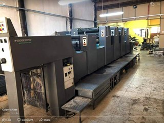 Heidelberg SM 74-4+L High pile Sheet Fed