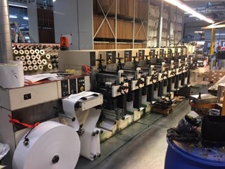 NilPeter F-2400- 8 colour Flexo printing UV Flexo