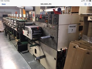 Nilpeter  F2400 8- colour Flexo printing UV Flexo